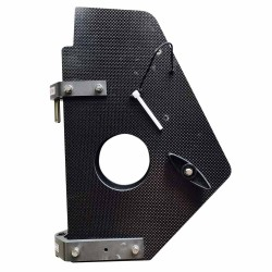Carbon holder for lifting Rudder