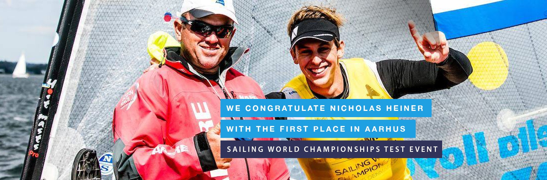 Dinghy Racing Centre congratulates Nicholas Heiner!