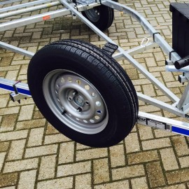 Option Spare Wheel for Finn Trailer